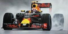 Formule 1 Max Verstappen Regenrace Brazilië