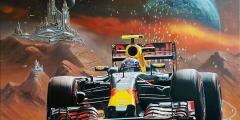 Formule 1 Max Verstappen Fantasy Stad