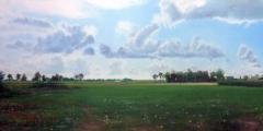 Dutch Landscape Meadow