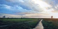 Dutch Landscape Ditch
