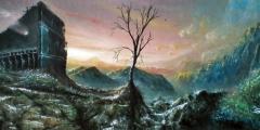 schilderij-ruin-and-tree